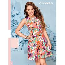 Vestido Cklass Multicolor Primavera Verano 2016 Envio Gratis
