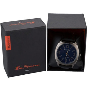 Reloj Ben Sherman Ion-plated Watch In Black Original Nuevo