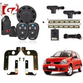 Kit Renault Clio 2 Portas Alarme Taramps + Travas Eletricas