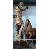 Cristo Roto, Tallado Fino En Madera Copalillo Cedro, Imagen