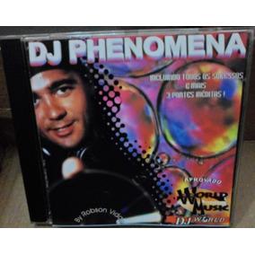Cd Dj Phenomena - By Robson Vidal - 1998 - Raro - Original