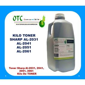 Kilo De Toner Sharp Al-2031, 2041, 2051, 2061 Excelente Cal.