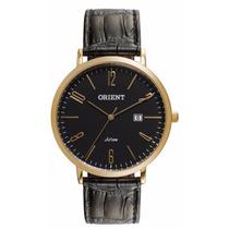 Relógio Orient Masculino Clássico Pulseira De Couro Mgsc