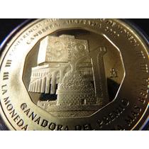 Moneda Medalla Unam Acueducto Observatorio Maya Año 2000