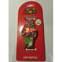 Reloj Led Super Mario