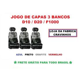 Capa Chinil 3 Bancos Caminhonete D10/d20/f1000