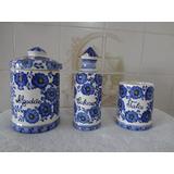 Kit Barbearia Antigo -porcelana Lusobrasil 300