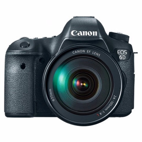 Canon Eos 6d 20.2 Megapixels Con Lente Ef 24-105mm Is