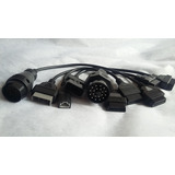 Set Cable Adaptadores Diagnostico Escaner Tsuru Bmw Honda