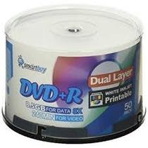 50 Dual Layer Smartbuy 8.5gb Printable Id S-04 066 Ritek