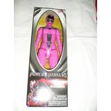 Boneco Power Rangers * Pink Ranger ( Rosa ) 30cm Bandai