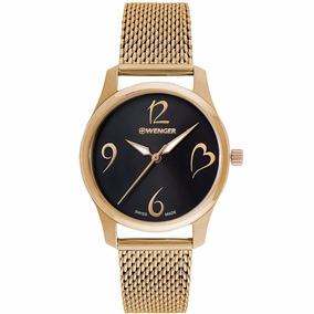 Reloj Wenger City Very Lady 011421110 Original Para Dama