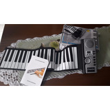 Teclado E Piano Flexivel Roll Up 61 Teclas