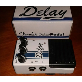 Pedal Fender Delay Steteo - Competition Series (nuevo)
