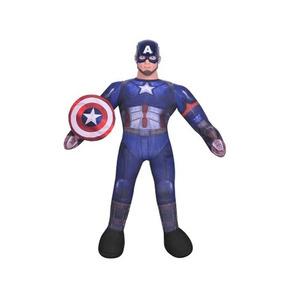Muñeco Soft Capitan America C/ Sonido Lic. Marvel New Toys