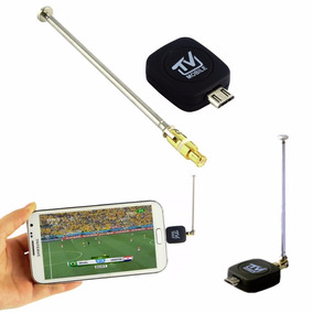 Receptor De Sinal Tv Digital Android Celular Tablet Antena