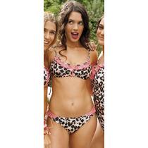 Bikinis 2017 Top+semiless Sweet Victorian Art 543-17 Mallas