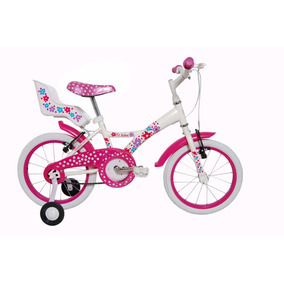 Bicicleta Infantil Tito My Bike Aro 16 Com Porta Boneca