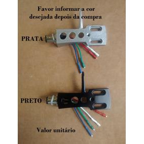 Headshell Universal Shell Com Parafusos Sony Gradiente Etc..