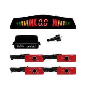 Sensor De Estacionamento Oem Orbe 4 Pontos Embutir Preto