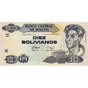 Grr-billete Bolivia 10 Bolivianos 2011 - 2013 Cecilio Guzmán