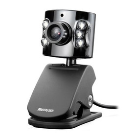 Web Cam Multilaser 1.3mp Wc040 C/ Microfone