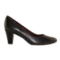 Zapato Estileto Mujer Piccadilly Taco 7cm Sintetico Negro