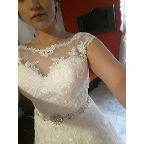 Hermoso Vestido De Novia Madeline Gardner T8