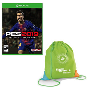 Pro Evolution Soccer 2019 - Pes 19 + Mochila - Xbox One