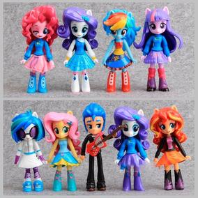 My Little Pony Equestria Girls Set 9 Pz + Envió Gratis
