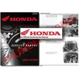 Manual Taller O Servicio Honda Cbr 1000 Rr 04 05 06 07