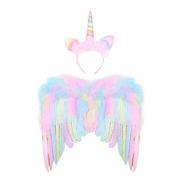 Accesorio Disfrace - G.c Alas De Unicornio Para Niñas Con Di