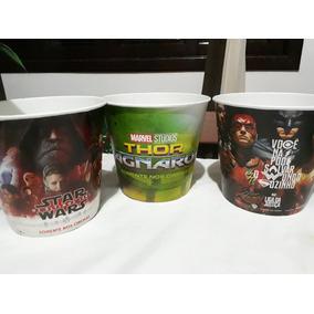 Balde Pipoca Thor Liga Da Justiça & Star Wars