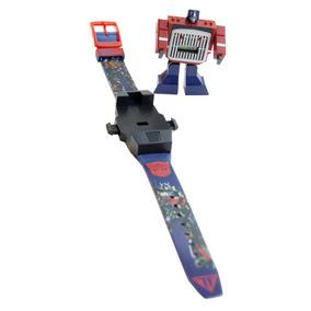 Reloj Digital Transformer Bumblebee Optimus Prime Robot