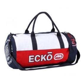 Bolsa Ecko England Azul/vermelha