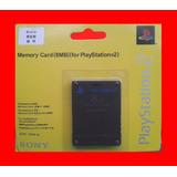 Memory Card 8mb Playstation2 Sony Original Nueva Sellada Ps2