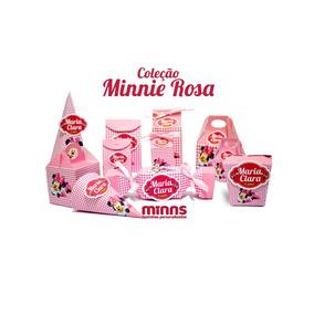 Kit Minni Rosa Arquivos Silhouette