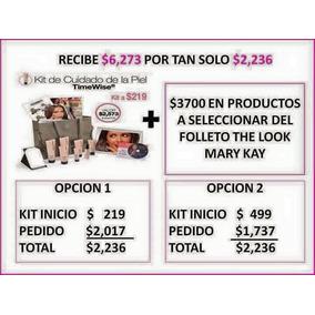 Kit De Inicio Mary Kay Cuidado De La Piel Envio Gratis