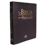La Biblia Para La Predicación (tapa Cuero)