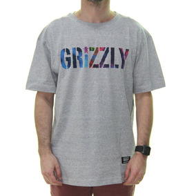 Camiseta Masculina Grizzly Nice Trip Estampada Manga Curta - cc16fe3465e
