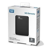Disco Duro Externo Wd Element 2 Teras Usb3.0 Hdd