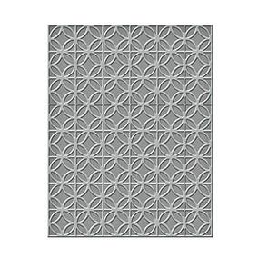 Spellbinders Ses-006 Círculos Y Diamantes En Relieve Carpet