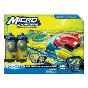 Pista Con Salto Microcharger Intek 7009 Jugueteria