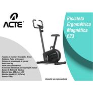 Bicicleta Ergométrica Vertical Magnetica Acte