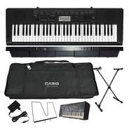 Kit Teclado Musical Sensitivas Ctk-3500 Casio Completo