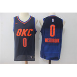 Nba Oklahoma City Thunder 2017-2018 Home Away Third Swingman