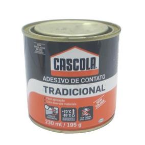 Cola - P/borracha - Cascola - Uso Geral - Lata Pequena 195g