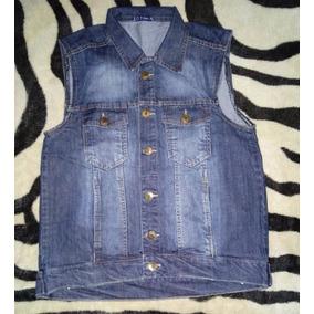 Colete Jeans Masculino Azul Escuro Moda Verão 2018