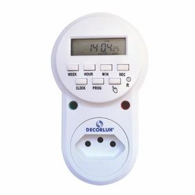 Temporizador (timer) Digital - Decorlux - Bivolt - 10a