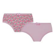 Calcinha Lobinha Infantil Cotton Kit2 Ref. 00211-088